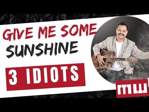 Give me some sunshine | Guitar chords | Aamir khan | Rotten Guitars Tutorials