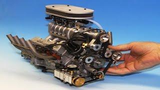 Миниатюрные v8 двигатели внутреннего сгорания.