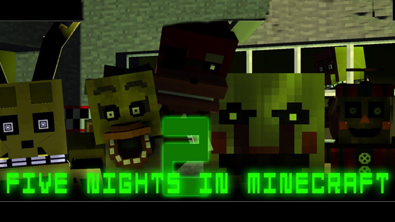 Five Nights at Minecraft 2 - FNAF Fan Games!
