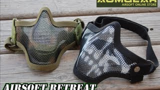Black Bear Airsoft V1 Shadow Mesh Mask Overview
