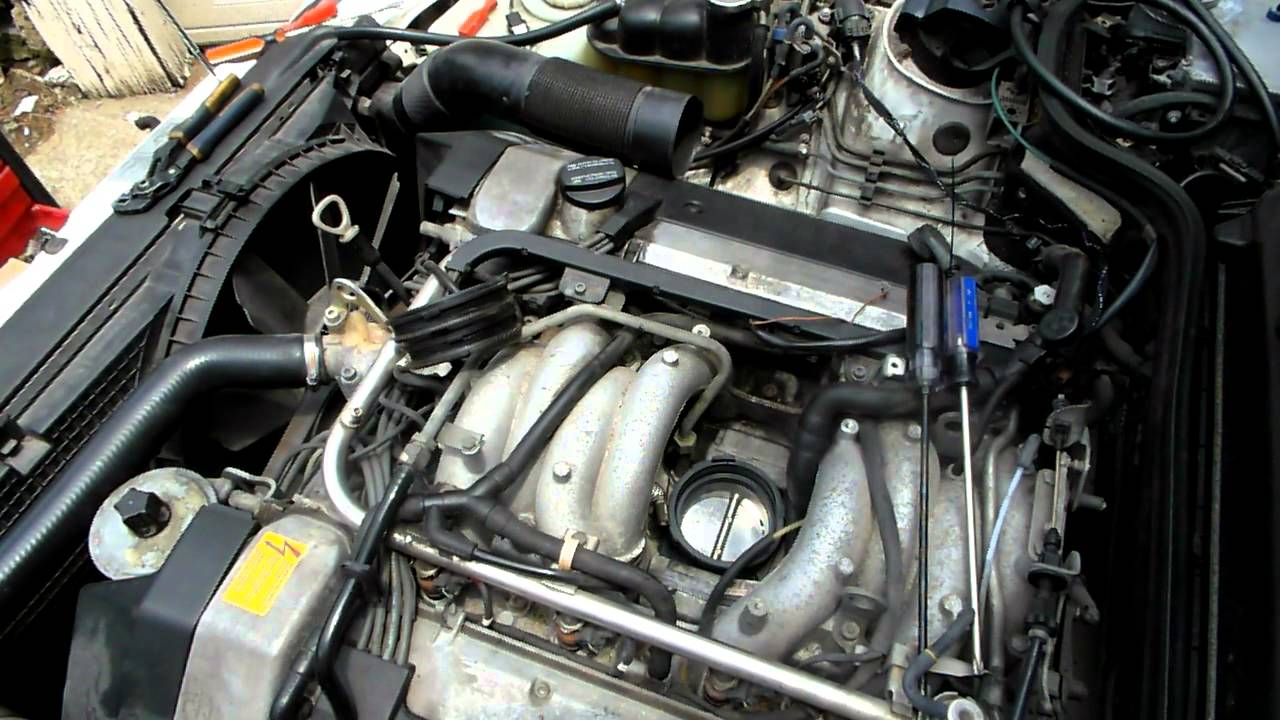 Part 8 Mercedes V8 Throttle Body Removal And Installation