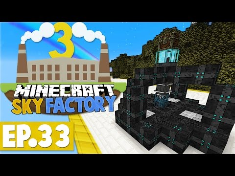 minecraft-sky-factory-3---laser-void-ore-miner!-#33-[modded-skyblock]