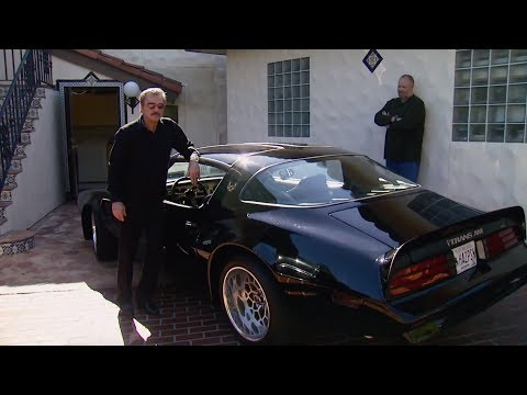 Burt Reynolds and Detroit Muscle Salute The Bandit Trans Am