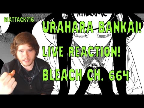 BLEACH Ch. 664 LIVE REACTION: URAHARA'S BANKAI! ブリーチ (WITH PANELS)