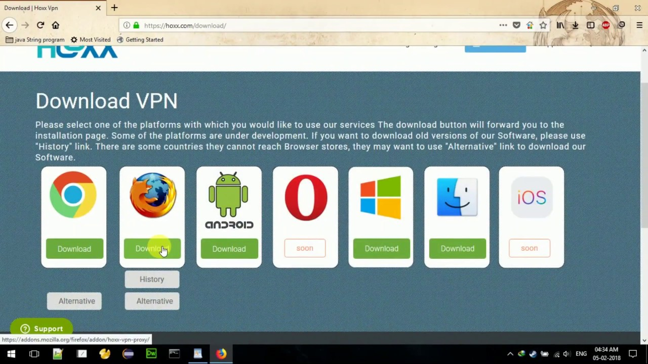 hoxx vpn android