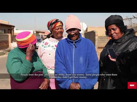 SASSA beneficiaries on problems with payments