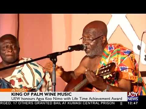 King of Palm Wine Music - Joy Entertainment Today (3-11-17)