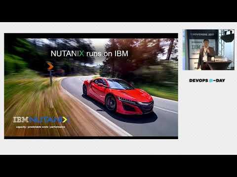 Anthony Costeseque - Nutanix : Une infrastructure agile pour soutenir vos pratiques DevOps