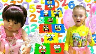 Учим цифры. Видео для детей. Веселое обучение.