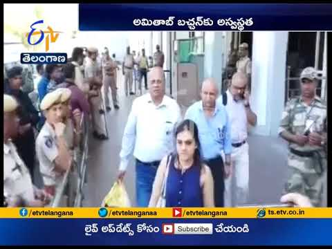 Amitabh Bachchan is taken Ill on Thugs Of Hindostan Set   Doctors Rush from Mumbai to Jodhpur