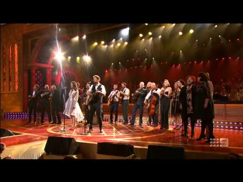 The cast of Once - Happy Xmas (War Is Over) - Carols by Candlelight 2014
