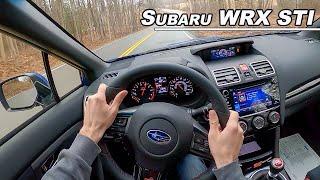 2020 Subaru WRX STI - Underrated or Outdated? (POV Drive Binaural Audio)