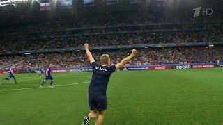 На чемпионате Европы по футболу сборная Исландии победила Англию и вышла в четвертьфинал.
