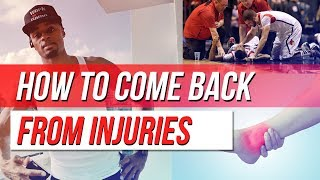 How to Come Back Mentally From Sports Injuries | Dre Baldwin