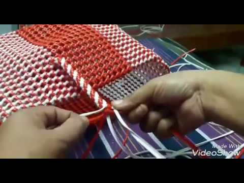 basket weaving handle making part2(model1) - YouTube