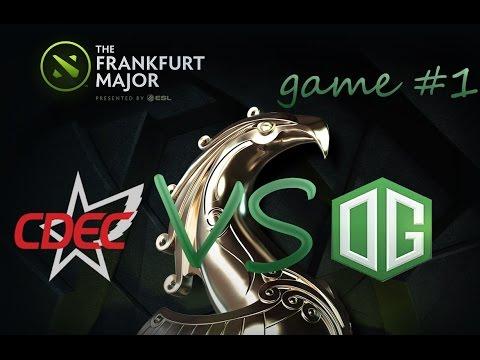 cdec vs og (monkey business) frankfurt major game 1