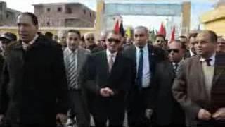 بالفيديو والصور.. محافظ كفر الشيخ يفتتح حمام السباحة بنادي الحامول