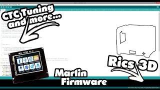 CTC 3D Drucker - Tuning Tutorial_10  Marlin Firmware + MKS TFT28 Firmware)