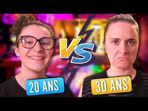 20 ANS vs 30 ANS