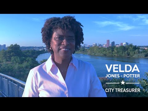 Vote Velda ~ Wilmington City Treasurer!