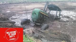 Tractors STUCK in MUD 2019!!!