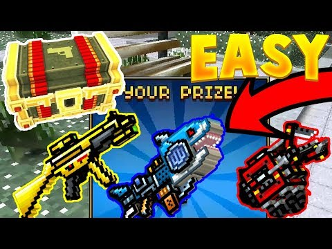 Pixel Gun 3D - How To Get The Golden Friend, Spark Shark, and Power Claw using this cheat!