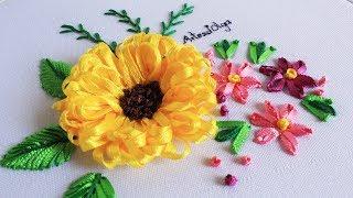 Hola a todos! Hoy te muestro como bordar un bouquet de flores de la...