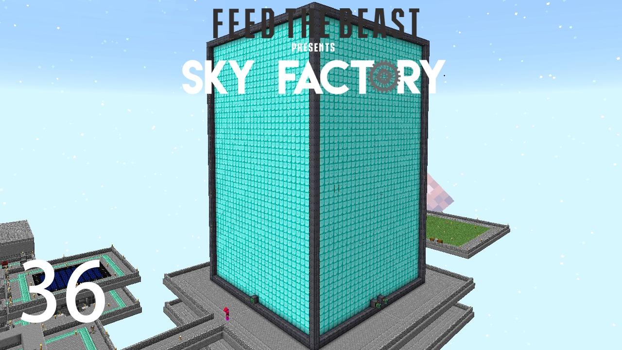 Sky Factory 3 w/ xB - MAX SIZE EXTREME REACTOR [E36] (Minecraft Modded Sky  Block)