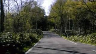 北海道道223号愛山渓上川線:愛山渓温泉~道道640号交点(Part2)[上川町]
