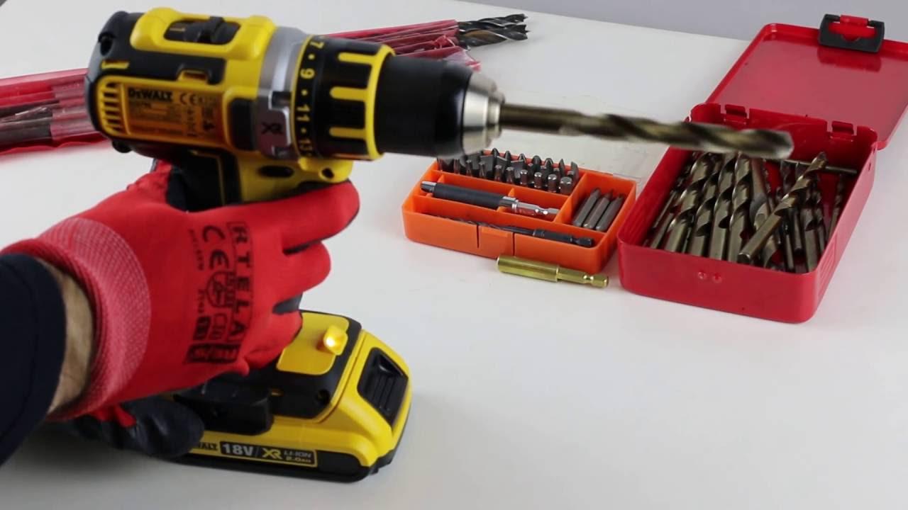 DeWalt DCD790 cordless drill - chuck wobble problem!