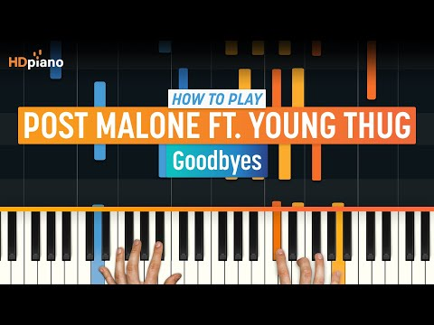"""how-to-play-""""goodbyes""""-by-post-malone-ft.-young-thug-