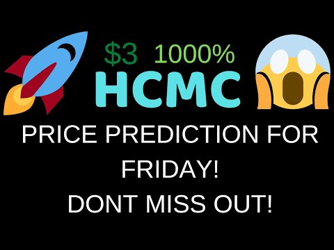 HCMC PRICE PREDICTION FOR FRIDAY! WHAT WILL HAPPEN TOMORROW! MUST WATCH! HCMC ANALYSIS!