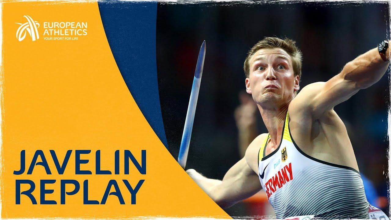 Men's Javelin Final | Berlin 2018