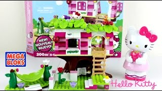Hello Kitty Tree House Mega Bloks 200 Pieces