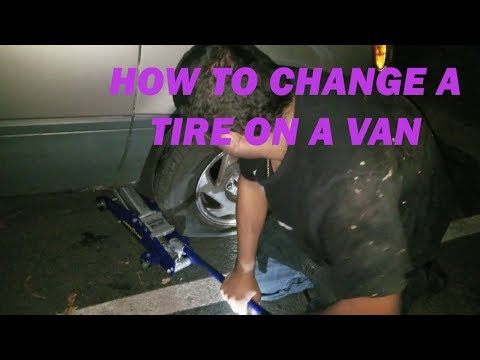 how-to-change-a-flat-tire-on-a-van