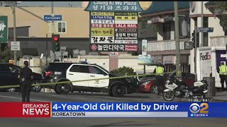 Girl, 4, Struck And Killed By SUV In Koreatown; Mother Injured