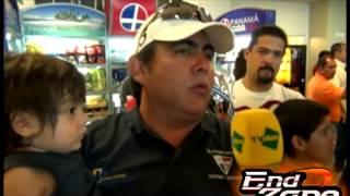 End Zone - Llegada Seleccion de Football Americano - Panama Campeon Centroamericano