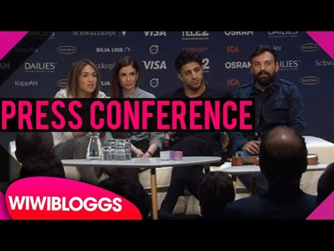 "Greece press conference - Argo ""Utopian Land"" Eurovision 2016 