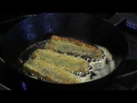 Garfish Manly Winter 2014: Sauteed Parmesan And Rosemary Crusted Sardines