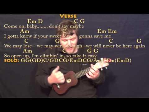 Take It Easy (Eagles) Ukulele Cover Lesson with Chords/Lyrics