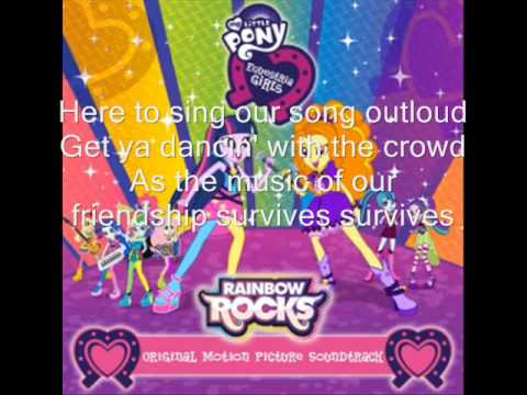 Music In Our Hearts lyrics (aka Welcome to the Show)