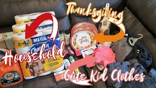 🛒LARGE FAMILY Household & CLOTHING Haul🧥 | Walmart | Aldi | Sierra Trading Post