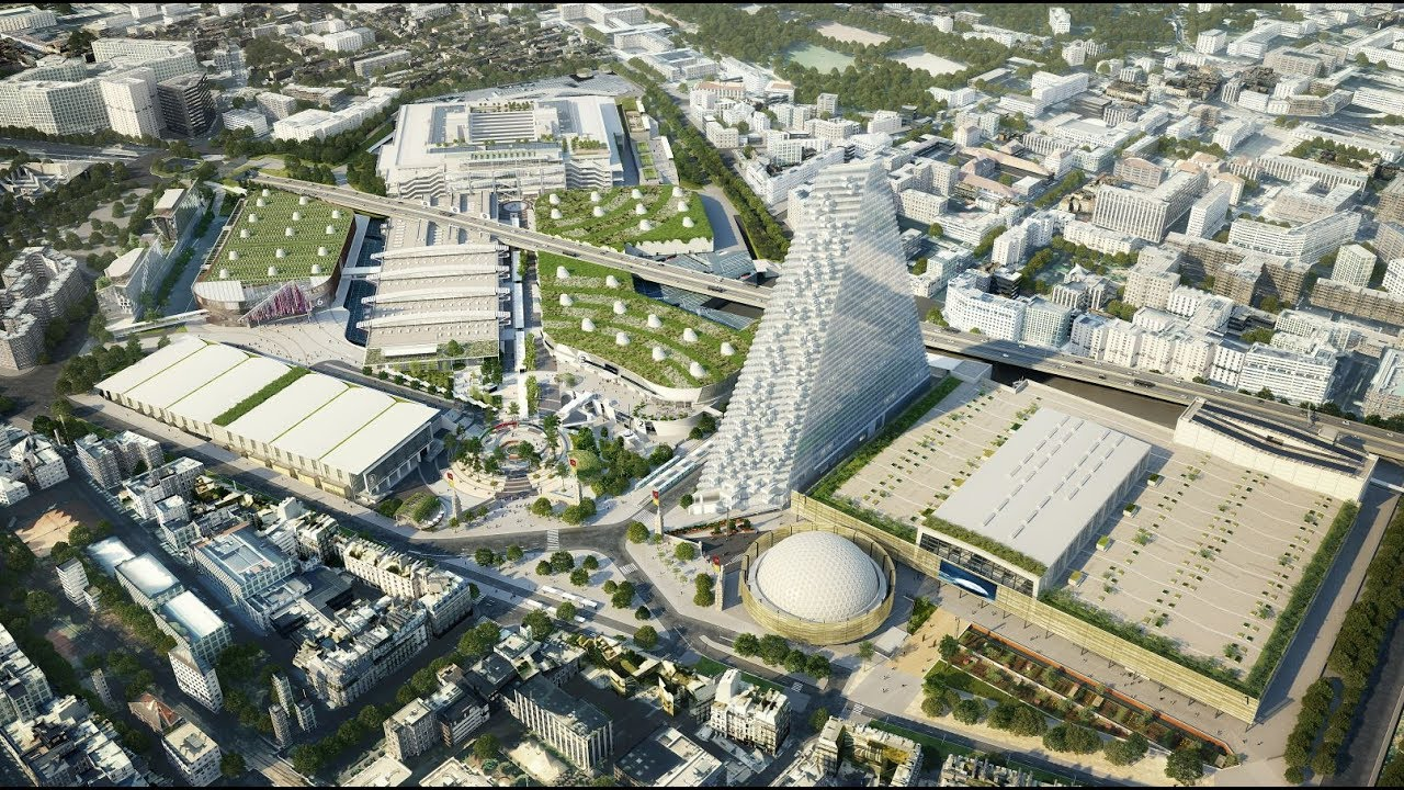 Projet paris expo porte de versailles vf youtube - Porte de renovation ...