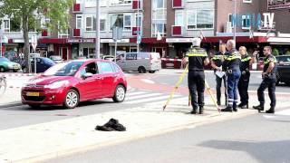 Voetganger overleden na aanrijding Burgemeester Baumannlaan Rotterdam Overschie