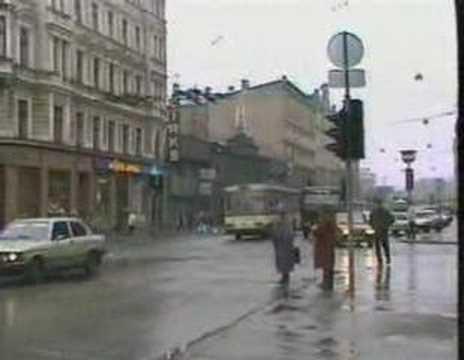 Trolleybus in Riga Latvia