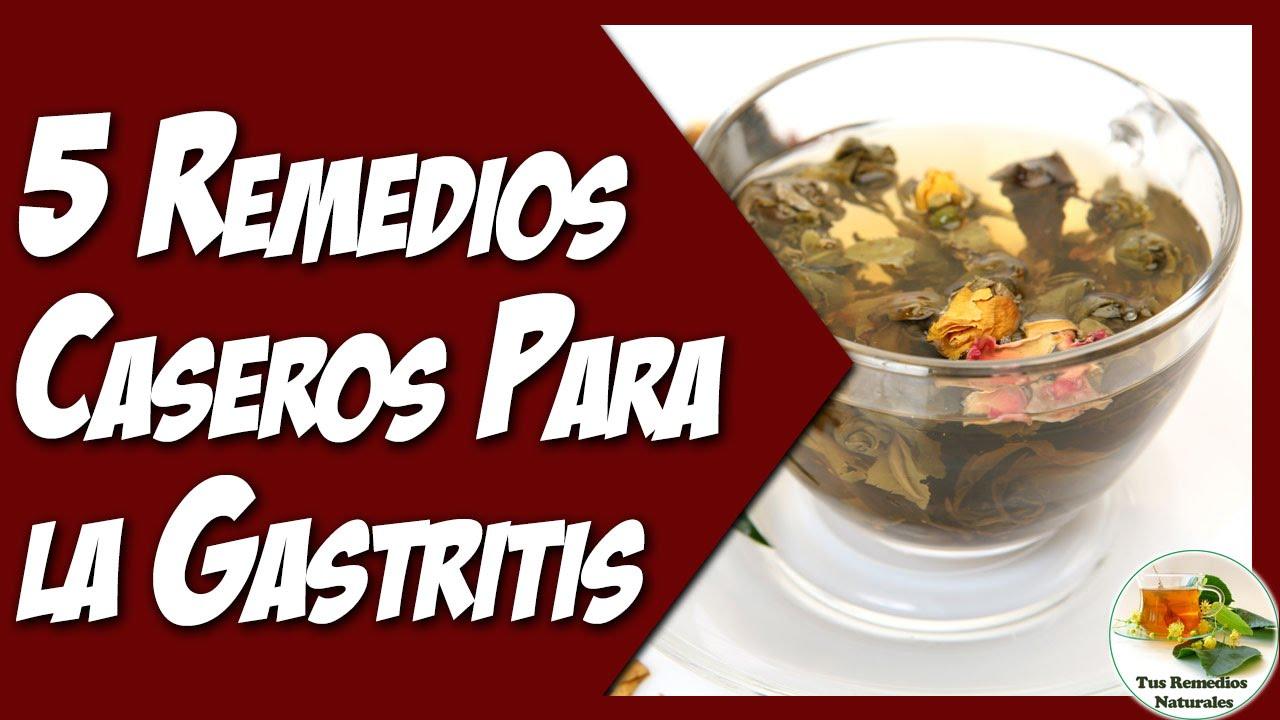 Remedios caseros contra la gastritis nerviosa