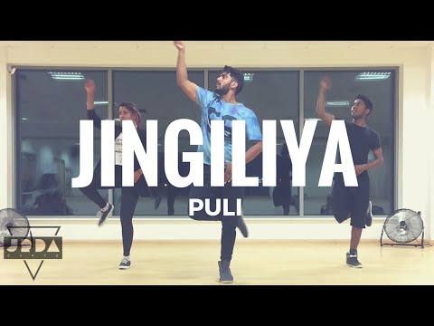JINGILIYA - Puli | Dance | Shruti Haasan | DSP I @JeyaRaveendran Choreography (Int)