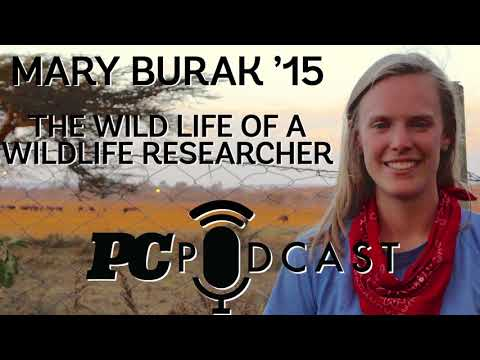 Mary Burak '15 — The wild life of a wildlife researcher