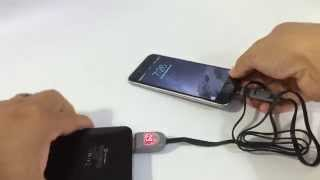 2 in 1 8 pin lightning usb data sync charging cable with current voltage display by sungluber