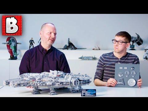 LEGO Designer Video: 75192 Millennium Falcon  Ultimate Collector Series!